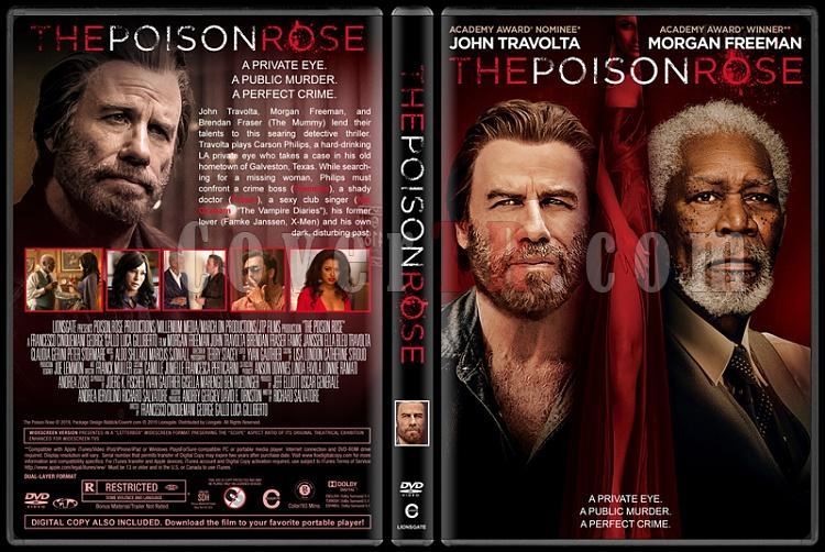 The Poison Rose - Custom Dvd Cover - English [2019]-01jpg