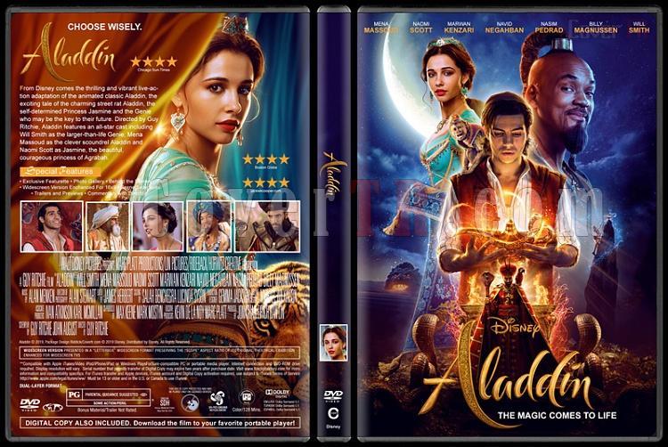 Aladdin - Custom Dvd Cover - English [2019]-02jpg