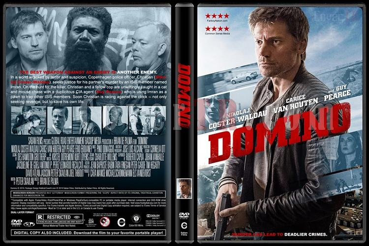 Domino - Custom Dvd Cover - English [2019]-03jpg