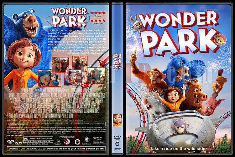 Wonder Park (Mucizeler Parkı) - Custom Dvd Cover - English [2019]-02jpg