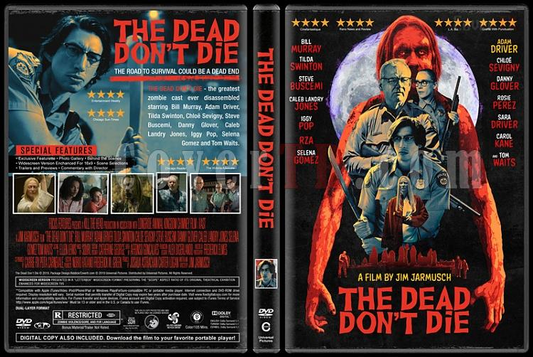 The Dead Don't Die - Custom Dvd Cover - English [2019]-04jpg