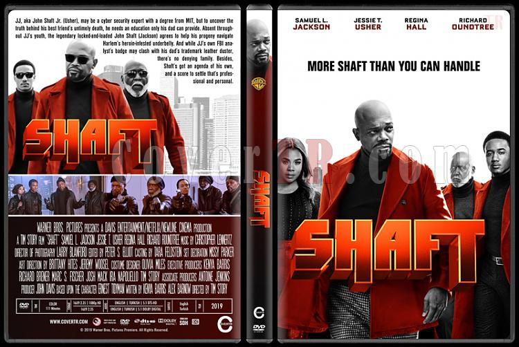 Shaft - Custom Dvd Cover - English [2019]-01jpg