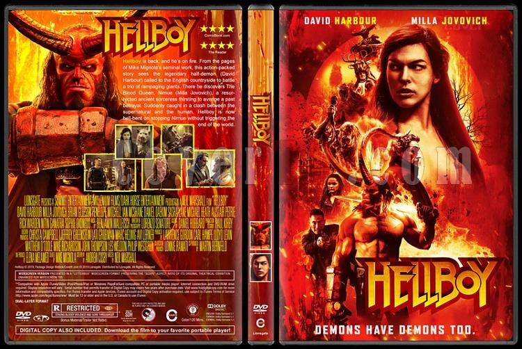 Hellboy - Custom Dvd Cover - English [2019]-01jpg