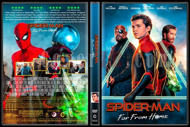 Spider-Man: Far from Home (Örümcek-Adam: Evden Uzakta) - Custom Dvd Cover - English [2019]-01jpg