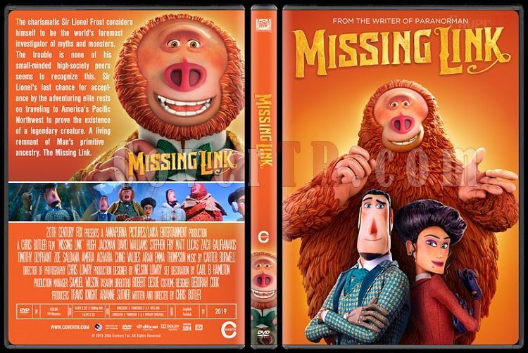 Missing Link - Custom Dvd Cover - English [2019]-02jpg