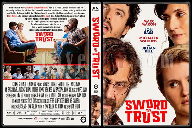 Sword of Trust - Custom Dvd Cover - English [2019]-2jpg