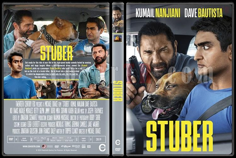 Stuber - Custom Dvd Cover - English [2019]-4jpg