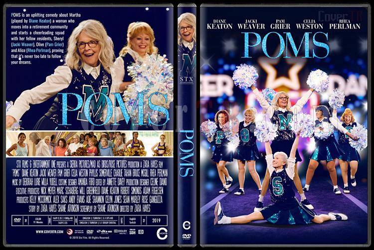 Poms - Custom Dvd Cover - English [2019]-5jpg