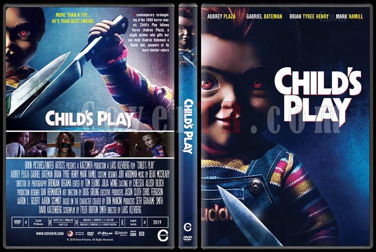 Child's Play - Custom Dvd Cover - English [2019]-2jpg
