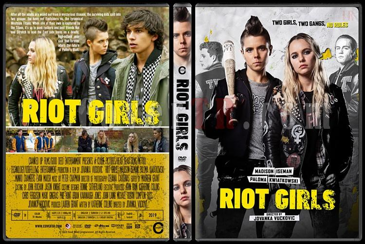 Riot Girls - Custom Dvd Cover - English [2019]-3jpg