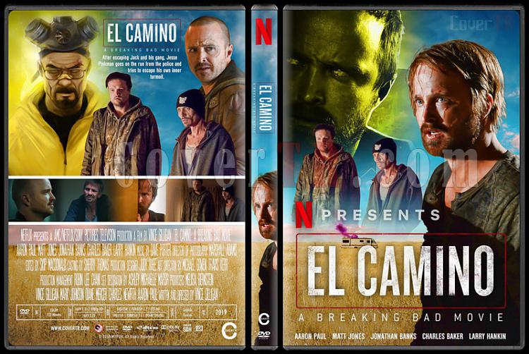 El Camino: A Breaking Bad Movie - Custom Dvd Cover - English [2019]-2jpg