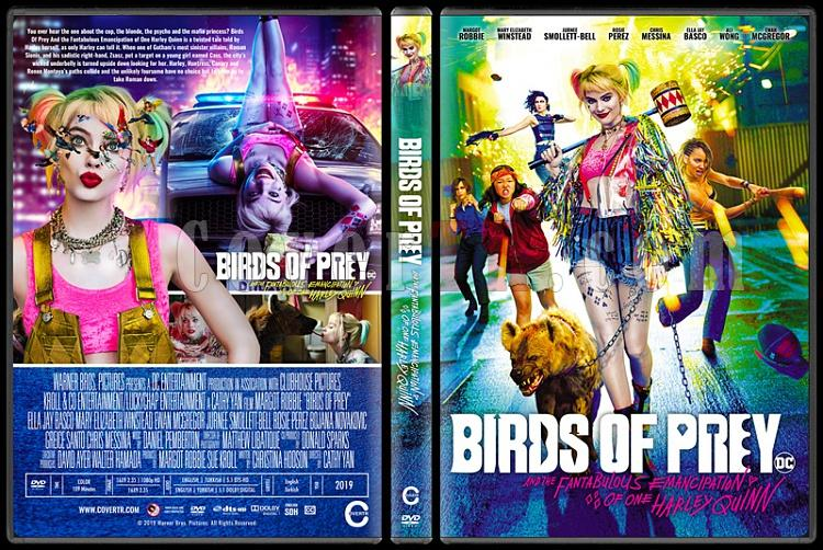 Birds Of Prey And The Fantabulous Emancipation Of One Harley Quinn Yirtici Kuslar Ve Muhtesem Harley Quinn Custom Dvd Cover English 2020 Covertr