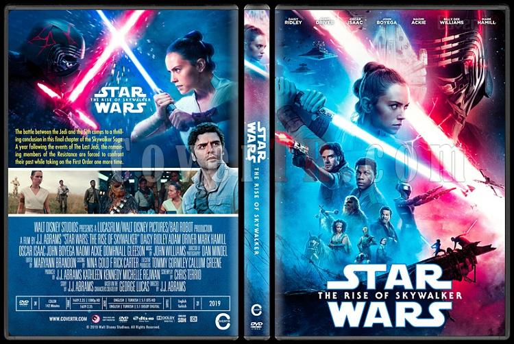 Covertr View Single Post Star Wars The Rise Of Skywalker Star Wars Skywalker In Yukselisi Custom Dvd Cover English 2020