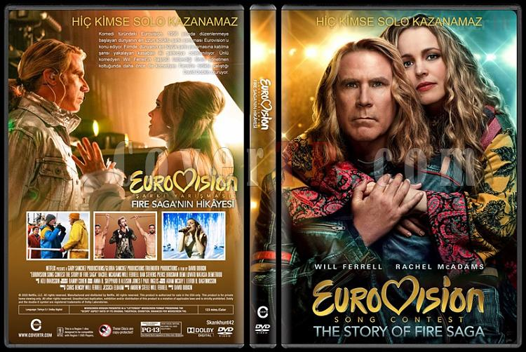 Eurovision Song Contest: The Story of Fire Saga (Eurovision Şarkı Yarışması: Fire Saga'nın Hikâyesi) - Custom Dvd Cover - English [2020]-1jpg