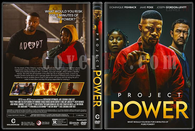 Project Power - Custom Dvd Cover - Türkçe [2020]-1jpg