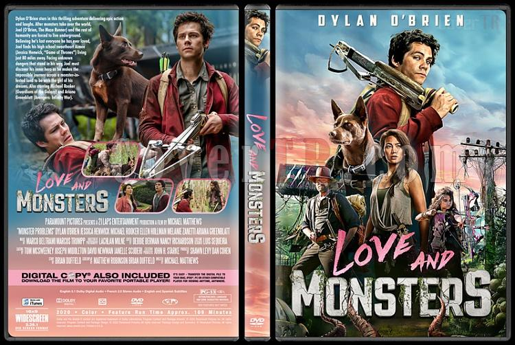 Love and Monsters - Custom dvd Cover - English [2020]-1jpg