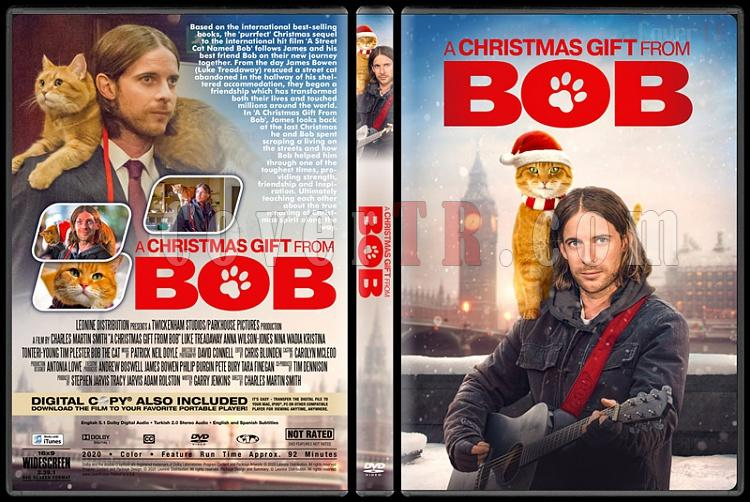 A Christmas Gift from Bob - Custom Dvd Cover - English [2020]-1jpg