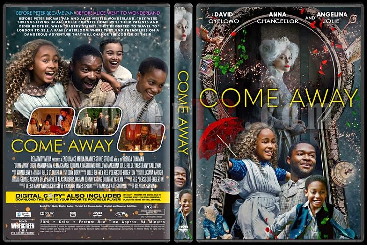 Come Away - Custom Dvd Cover - English [2020]-3jpg