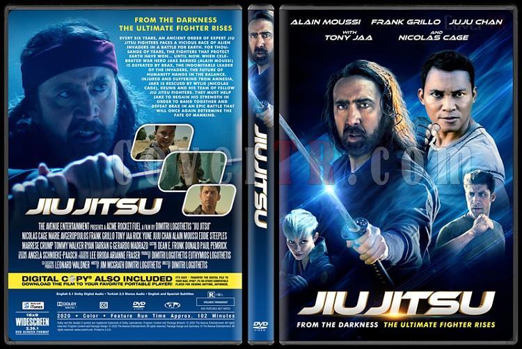 Jiu Jitsu - Custom Dvd Cover - English [2020]-2jpg