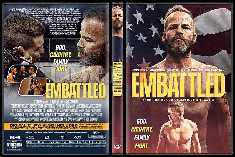 Embattled - Custom Dvd Cover - English [2020]-1jpg