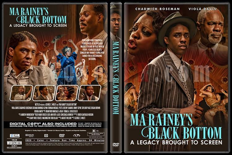 Ma Rainey's Black Bottom (Ma Rainey: Blues'un Annesi) - Custom Dvd Cover - English [2020]-1jpg
