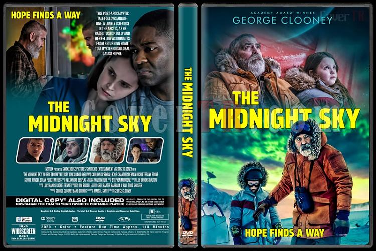 The Midnight Sky (Gece Yarısı Gökyüzü) - Custom dvd Cover - English [2020]-1jpg