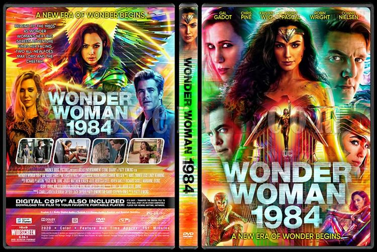 Wonder Woman 1984 - Custom Dvd Cover - English [2020]-1jpg