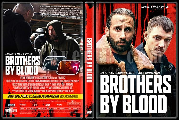 Brothers by Blood - Custom Dvd Cover - English [2021]-01jpg