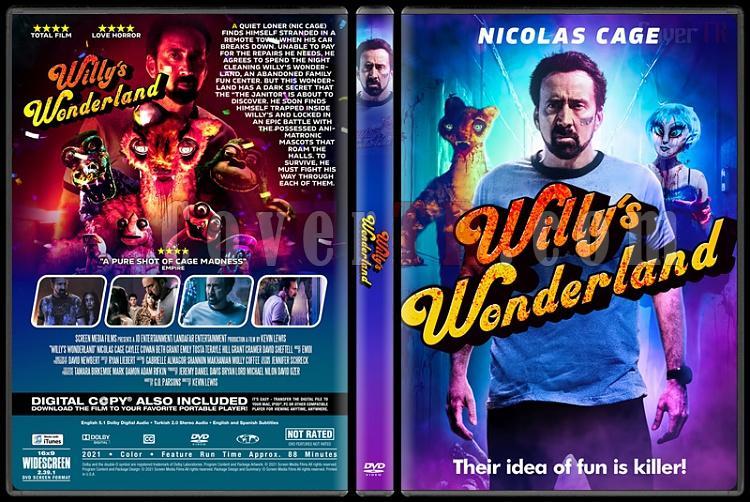 Willy's Wonderland - Custom dvd Cover - English [2021]-1jpg