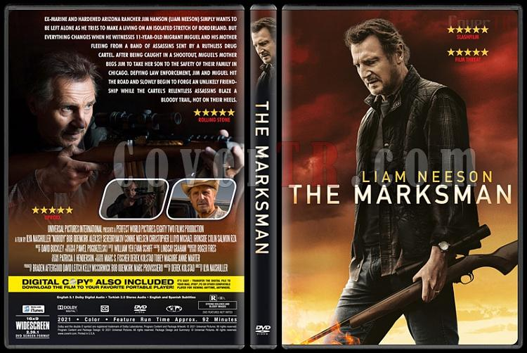 The Marksman - Custom Dvd Cover - English [2021]-3jpg