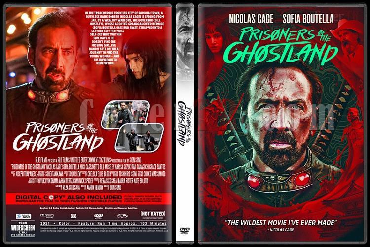 Prisoners of the Ghostland - Custom Dvd Cover - English [2021]-1jpg