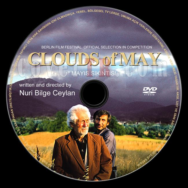 Clouds of May (Mayıs Sıkıntısı) - Custom Dvd Label - Türkçe  [1999]-clouds-may-mayis-sikintisi-custom-dvd-label-turkce-1999jpg