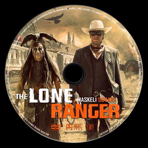 The Lone Ranger (Maskeli Süvari) - Custom Dvd Label - Türkçe [2013]-maskeli-suvari-label-izlemejpg