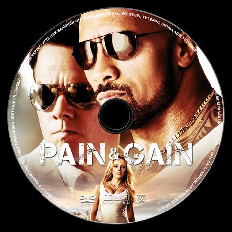 Pain and Gain (Acı ve Kazanç) - Custom Dvd Label - Türkçe [2013]-pain-gain-dvd-label-izleme-jpg