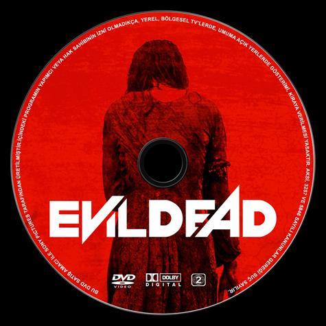 Evil Dead  (Kötü Ruh) - Custom Dvd Label - Türkçe [2013]-evil-dead-dvd-label-turkce-izlemejpg