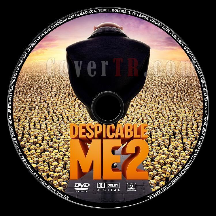 Despicable Me 2 (Çılgın Hırsız 2) - Custom Dvd Label - Türkçe [2013]-despicable-me-2jpg
