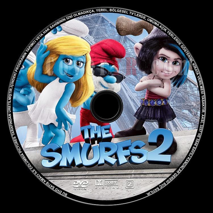 The Smurfs 2 (Şirinler 2) - Custom Dvd Label - Türkçe [2013]-sirinler-2-izlemejpg