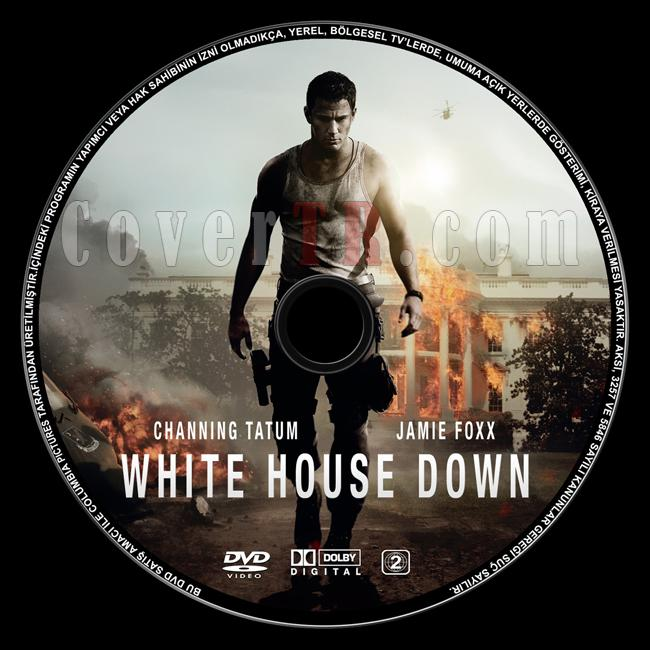 White House Down (Beyaz Saray Düştü) - Custom Dvd Label - Türkçe [2013]-white-house-down-dvd-label-turkcejpg