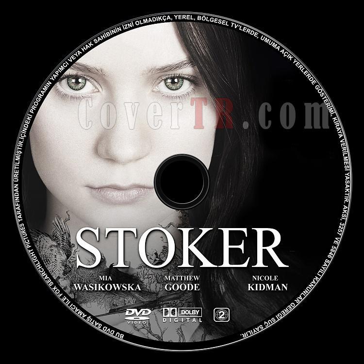 Stoker (Lanetli Kan) - Custom Dvd Label - English [2013]-stoker-lanetli-kan-dvd-label-ingilizce-baslikjpg