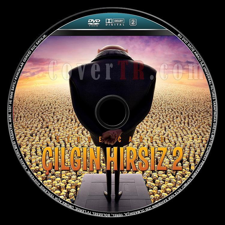 Despicable Me 2 (Çılgın Hırsız 2) - Custom Dvd Label - Türkçe [2013]-despicable-me-2-cilgin-hirsiz-2-dvd-label-turkcejpg