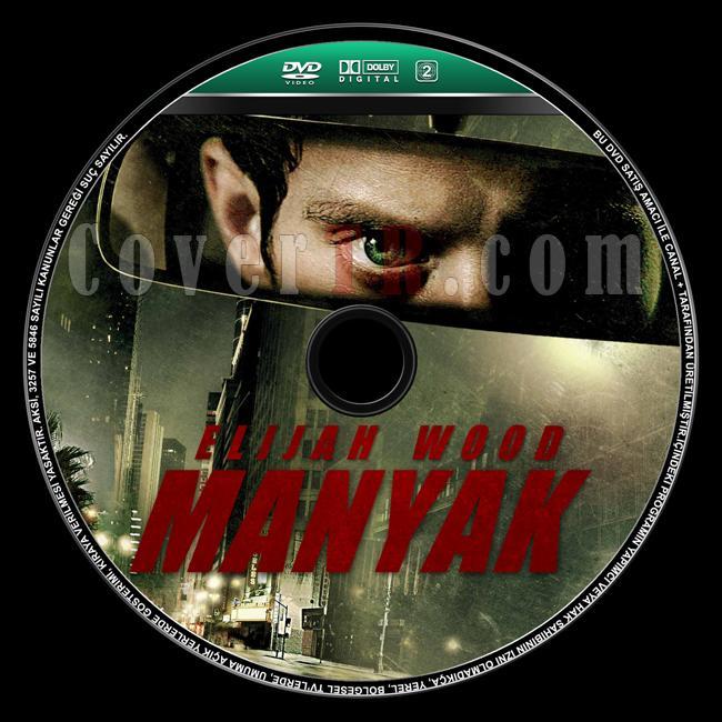Maniac (Manyak) - Custom Dvd Label - Türkçe [2012]-maniac-manyak-dvd-label-turkishjpg