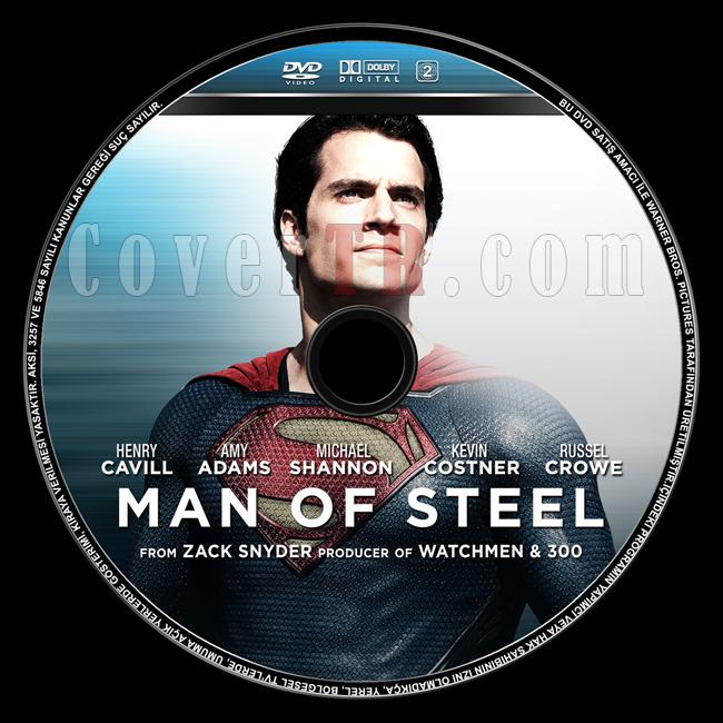 Man of Steel  (Çelik Adam) - Custom Dvd Label - English [2013]-man-steel-celik-adam-dvd-label-englishjpg
