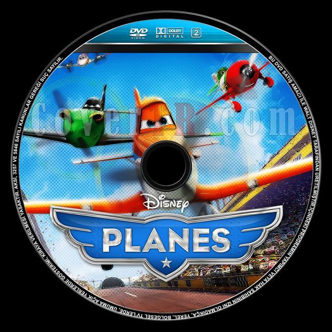 Planes (Uçaklar) - Custom Dvd Label - English [2013]-planes-ucaklar-dvd-label-english-izlemejpg