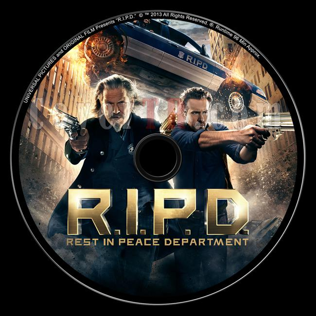 R.I.P.D. (Ölümsüz Polisler) - Custom Dvd Label - English ... R.i.p.d. Dvd