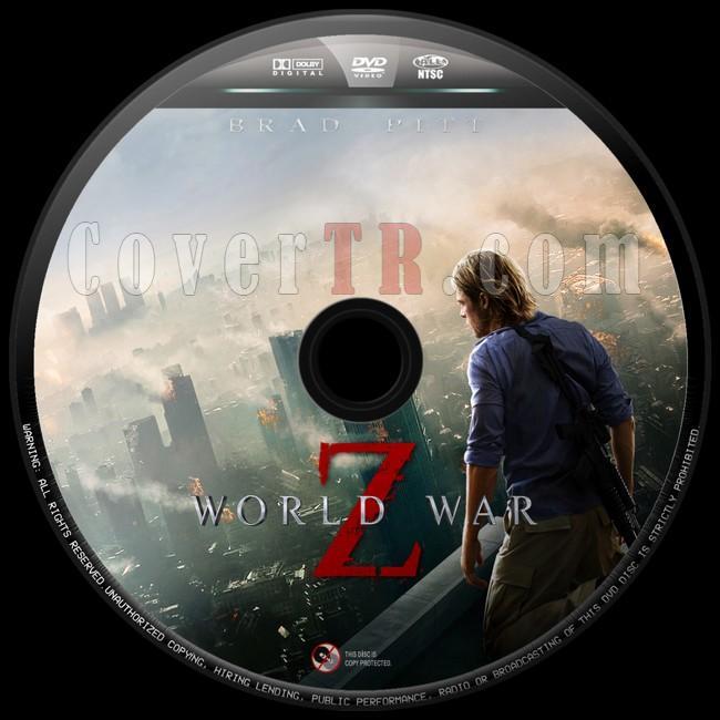 World War Z (Dünya Savaşı Z) - Custom Dvd Label - English [2013]-dunya-savasi-z-10jpg