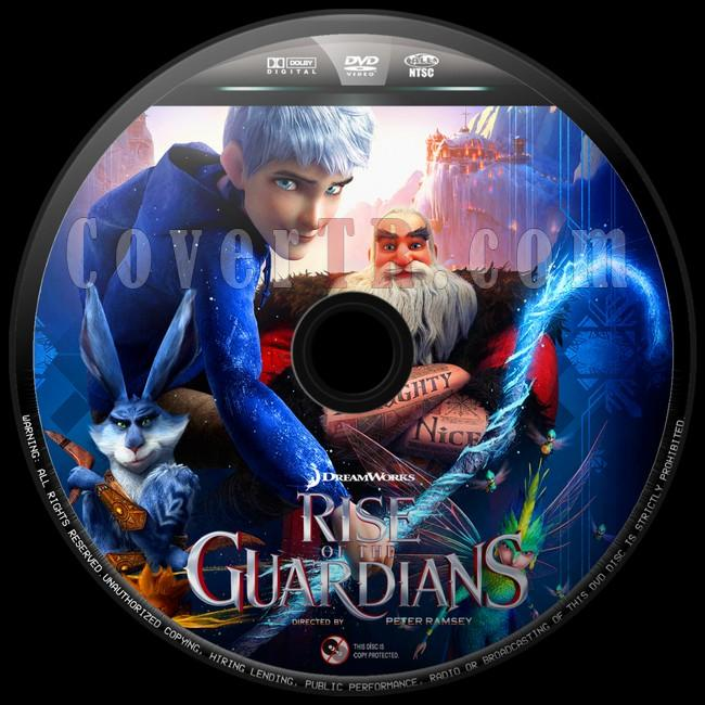 Rise of the Guardians  (Efsane Beşli) - Custom Dvd Label - English [2012]-efsane-besli-4jpg