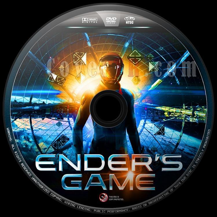 Ender's Game (Uzay Oyunları) - Custom Dvd Label - English [2013]-uzay-oyunlari-4jpg