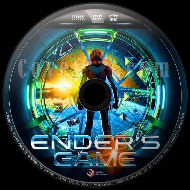 Ender's Game (Uzay Oyunları) - Custom Dvd Label - English [2013]-uzay-oyunlari-3jpg