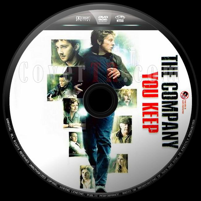 The Company You Keep (Geçmişin Sırları) - Custom Dvd Label - English [2012]-gecmisin-sirlari1jpg