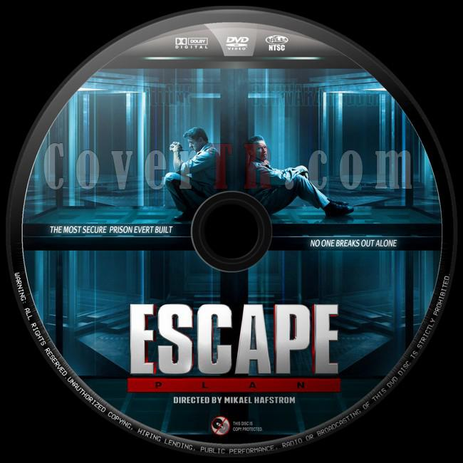 Escape Plan (Kaçış Planı) - Custom Dvd Label - English [2013]-kacis-plani1jpg